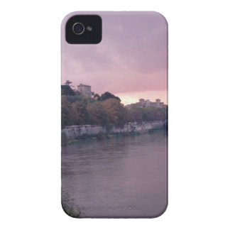 Tiber River at Sunset.png Case-Mate iPhone 4 Case