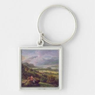 Tiber Valley Keychain