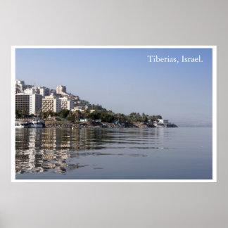 Tiberias, Israel Print