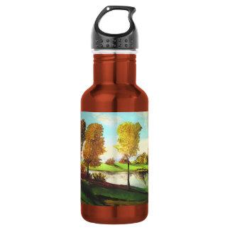 Tiberias views stainless steel water bottle