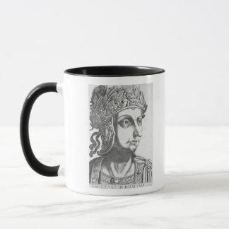 Tiberius Caesar (42 BC-37 AD), 1596 (engraving) Mug