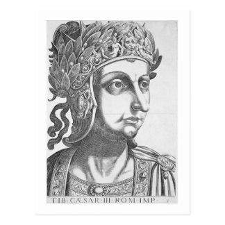 Tiberius César (42 BC-37 ANUNCIO), 1596 (grabado) Postales