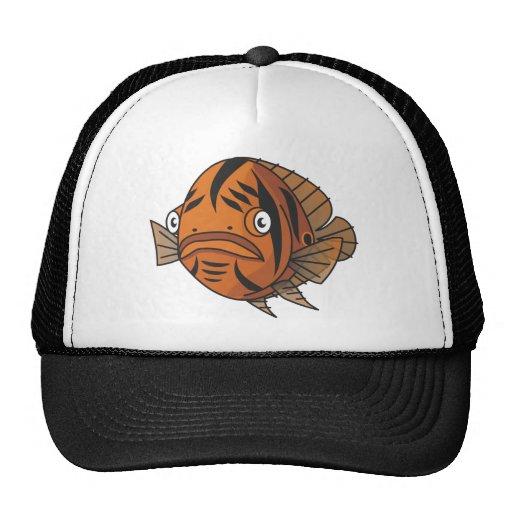 Tiberius Tiger Oscar Mesh Hat
