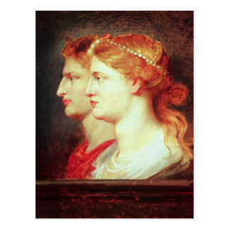 Tiberius y Agrippina, c.1614 Postales