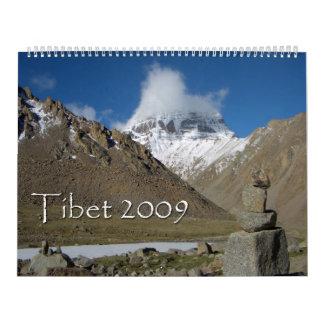 Tibet 2009 Calendar
