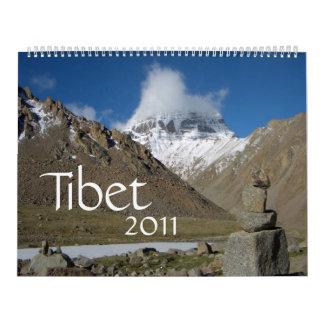 Tibet 2011 Calendar