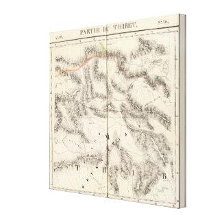 Tíbet, Asia 70 Impresión En Lienzo Estirada