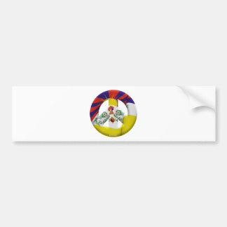 Tibet Car Bumper Sticker