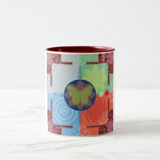 Tibet butterfly mug