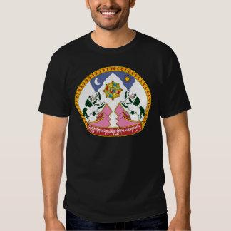 Tibet Coat of Arms detail T-shirt