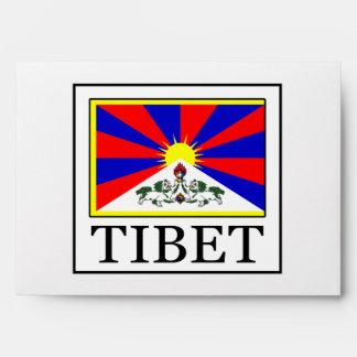 Tibet Envelope