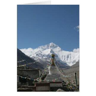 Tíbet Everest/foto de Tíbet Felicitaciones