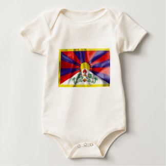 Tibet Flag Baby Romper