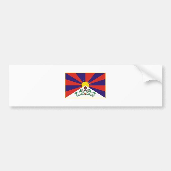 Tibet Flag Bumper Sticker