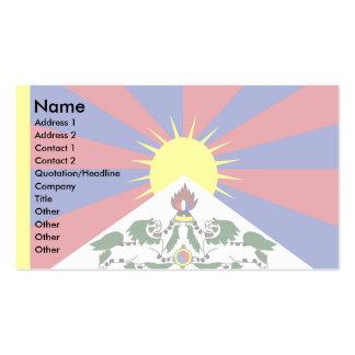 Tibet Flag Business Cards