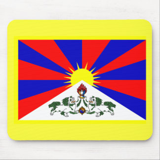 Tibet Flag - Customized Mouse Pad