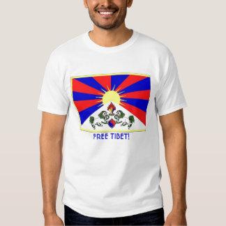 tibet-flag, FREE TIBET! Shirt