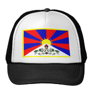 Tibet Flag Mesh Hat