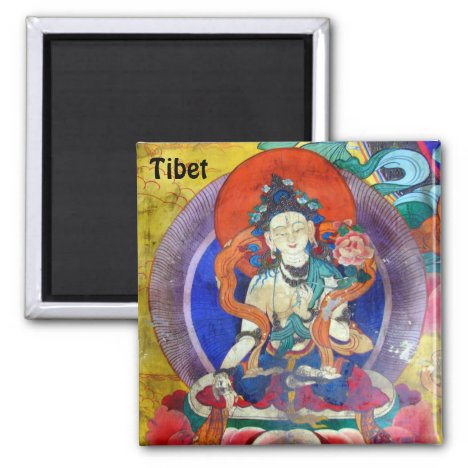 Tibet - Heruka Buddha, Ancient (Fridge Magnet)