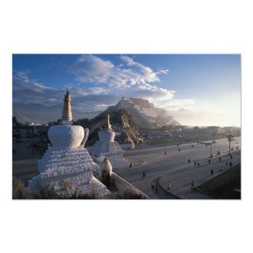 Tíbet - Lasa. Potala en la salida del sol Fotos