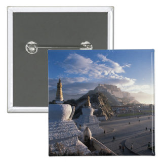 Tibet - Lhasa. Potala at sunrise Button