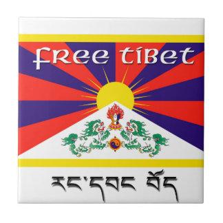Tíbet libre teja cerámica