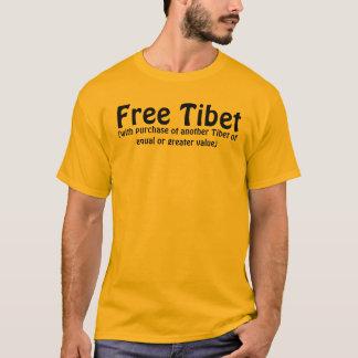 Tíbet libre (con la compra de otro Tíbet del equa Playera