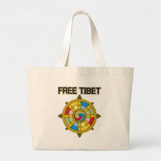 Tíbet libre Dharmacakra Bolsas