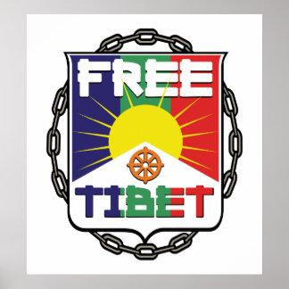 Tíbet libre encadenado posters