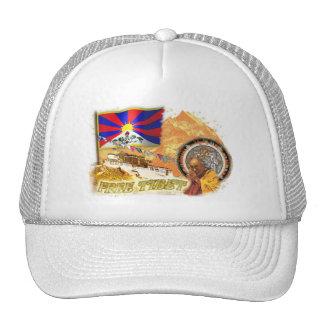 Tíbet libre gorro de camionero