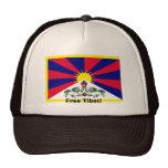 ¡Tíbet libre! Gorros Bordados