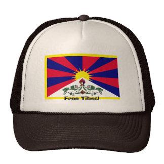¡Tíbet libre Gorros Bordados