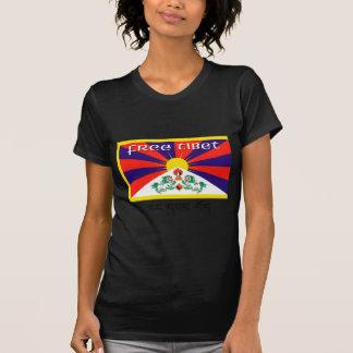 Tíbet libre camiseta