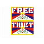 ¡Tíbet libre! Postales