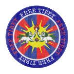 Tíbet libre tabla para cortar