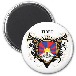 Tíbet [personalice] iman de frigorífico