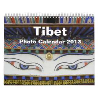 Tibet Photo Calendar 2013