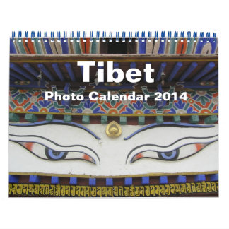 Tibet Photo Calendar 2014