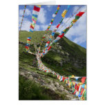 Tibet Photo / Prayer Flags Tibetan Greeting Card