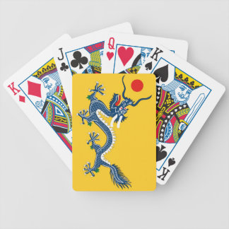 Tibet Qing Dynasty Flag (1890–1912) Playing Cards