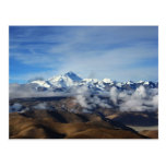 Tibet Qomolangma Mt Everest China Travel Photo Post Card
