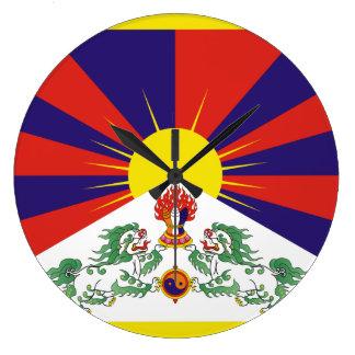 Tíbet Reloj Redondo Grande