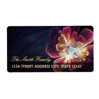 Tibet Sea Flower | Custom Shipping Address Labels