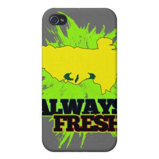Tíbet siempre fresco iPhone 4/4S carcasas