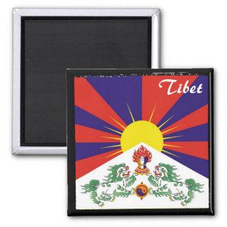 Tibet, Snow Lions, The Himalayas (Magnet) Magnet
