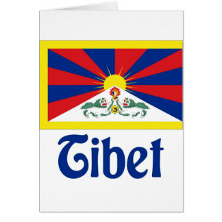 Tíbet Tarjeta De Felicitación