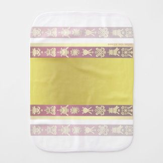Tibet Tibetan auspicious symbols Baby Burp Cloth