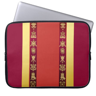 Tibet Tibetan auspicious symbols Laptop Sleeve