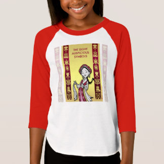 Tibet Tibetan auspicious symbols T-Shirt