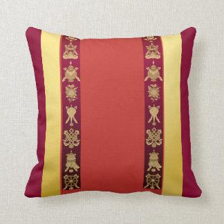 Tibet Tibetan auspicious symbols Throw Pillow